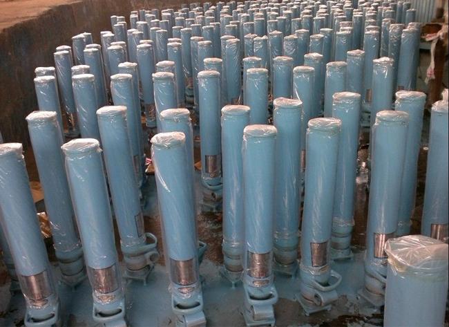 液压支柱管